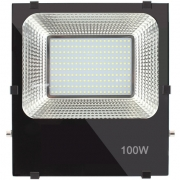 Proyector led 100w 6500k  ip65 negro