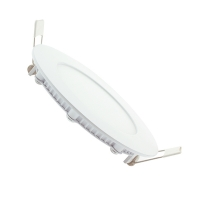 Downlight LED 6W empotrar aro blanco redondo