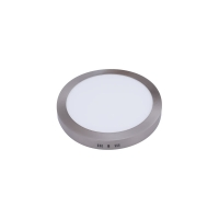 DOWNLIGHT SUP. RED. 24W 6500K  LED NIQUEL 1800 LM 30DX4H